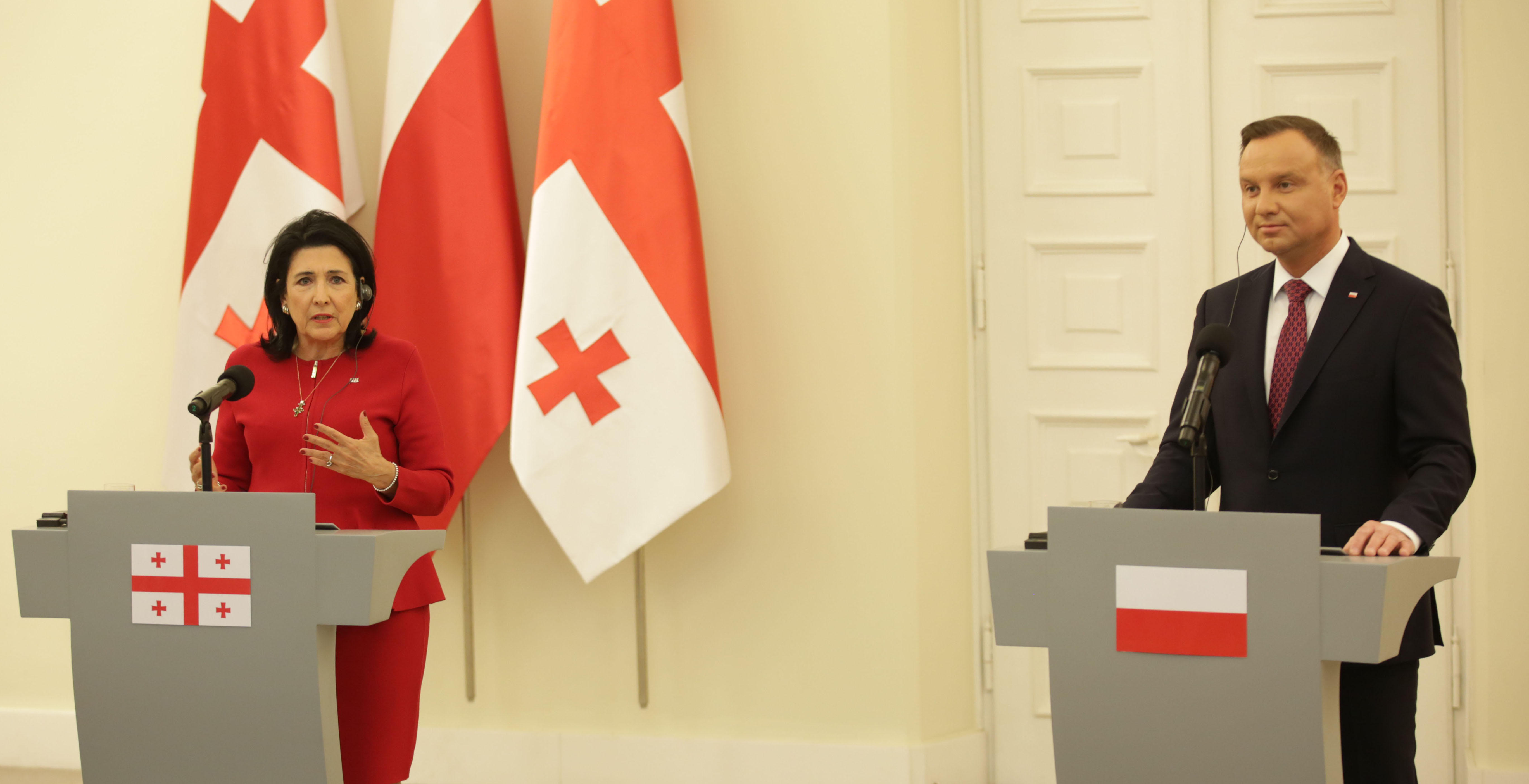 [X] Rzeczpospolita Polska Dudazurabishvili